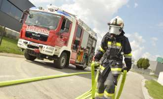 FF-Training: Null Sicht im Tunnel
