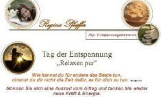 "Tag der Entspannung ""Relaxen pur"