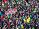 MAN Steyr: Warnstreik und Kundgebung - Bild 36