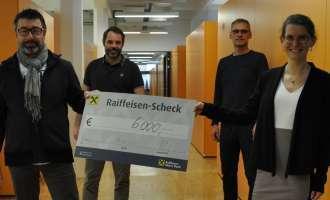 Vorwärts Steyr spendete 6.000 Euro für Kindersoforthilfe