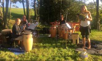 Drums on Mountain