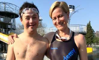 "Special Olympics: ""Schwimmtraining is a voller Spaß"""