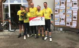 Charity: Von London nach Wels geradelt