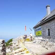 Naturfreundehaus auf dem traunstein webcam