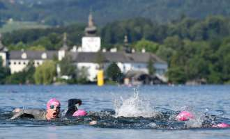 Triathlon vor Traumkulisse