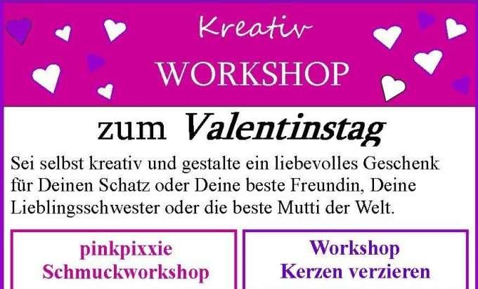 Kreativ Workshops Zum Valentinstag