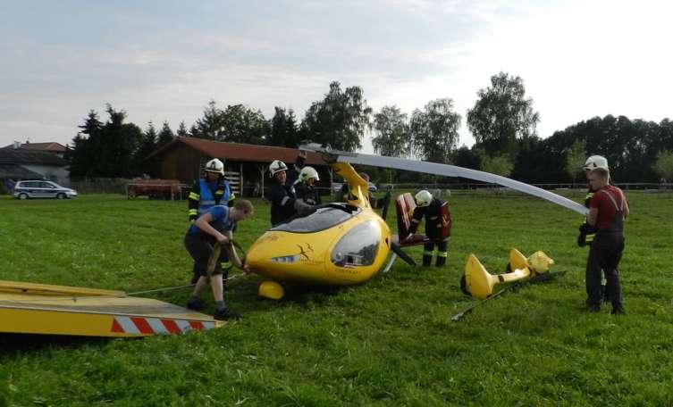 62-Jähriger wird bei Gyrocopter-Absturz in St ...