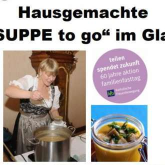 """Suppe to go"""