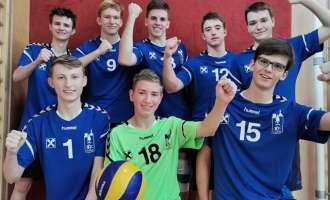 U20-Volleyboys siegen souverän