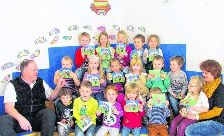 Maskottchen-Malbücher für Hinterstoderer Kindergarten-Kinder - Tips - Total Regional