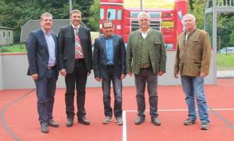Neue Sportanlage in Rosenau