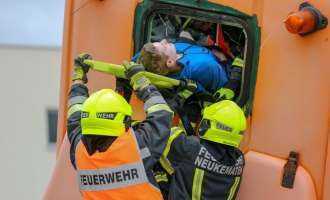 Bernegger Fire Fighter Competition in Molln