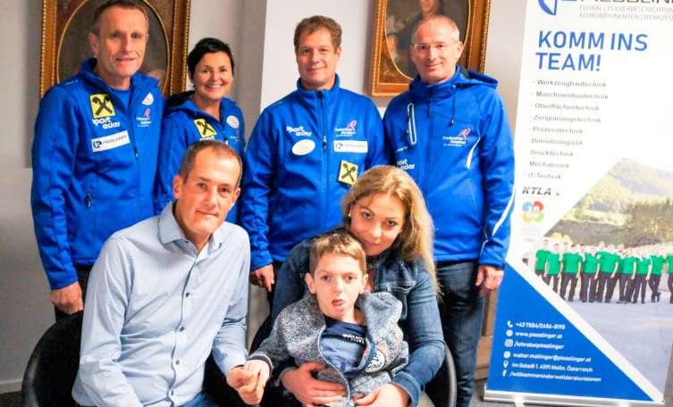 Treue Unterstützer des Friedenslicht-Marathons in Molln - Tips - Total Regional
