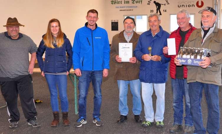Moarschaft 60+ gewinnt das Hubertusschießen in Molln - Tips - Total Regional
