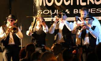 Open-Air-Konzert mit The Moochers