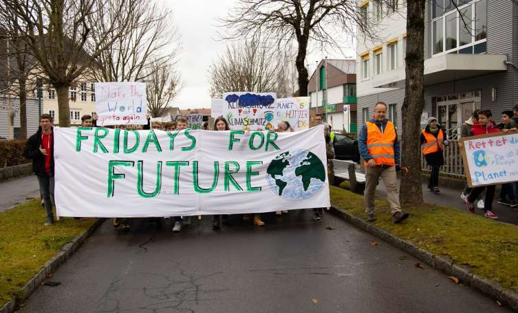 Erste Fridays for Future-Klimademo in Freistadt