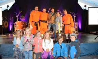 Die Crazy Percussion Show begeisterte im Vithal