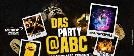 Das Party ABC feat. DJ Flip Capella im Musikpark A1
