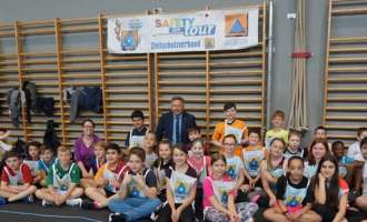 Zivilschutz-Kindersicherheitsolympiade Safety Tour 2018 - Bezirksbewerb in Pasching