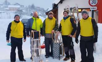 """Cool Runnings"": Gassen-Schnee-Rallye in Bad Traunstein"