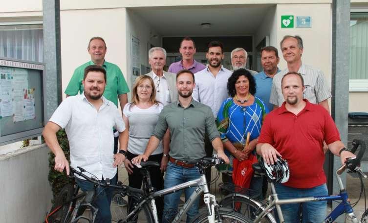 Erste GEHmeindeRADsitzung in Ennsdorf