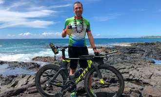 Rainer Egretzberger bei der Ironman WM in Hawaii!