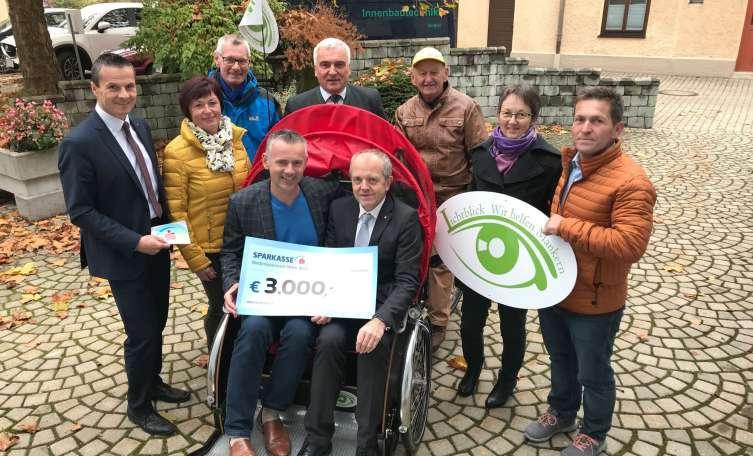 Das Recht auf Wind im Haar: Weiterer Finanzierungspartner für Lichtblick-Rikscha gefunden - Tips - Total Regional