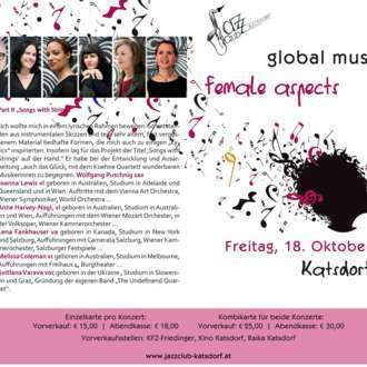 "Doppelkonzert ""global music - female aspects"""