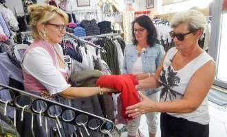 Shopping-Queen in Mattighofen zu Gast