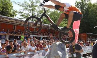 Spektakulärer Radsport beim 4. Trials World Cup am 7. + 8. Juli in Vöcklabruck