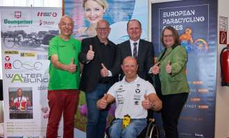 Bad Hall ist am 1. Juni 2019 Schauplatz der 3. Etappe der EUROPEAN PARACYCLING GAMES