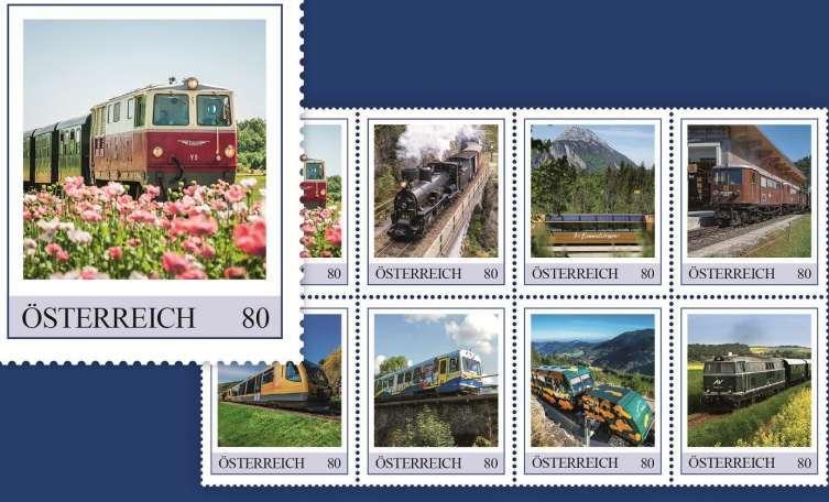 Die Mariazellerbahn Kommt Auf Eine Briefmarke