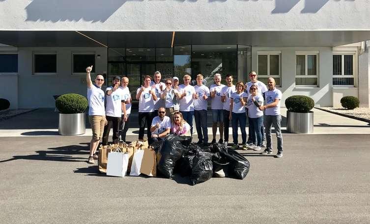 klasyczny nowe promocje klasyczny styl World Cleanup Day: Smurfit Kappa sammelt über 160 Kilogramm Müll