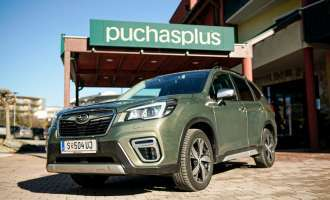 Subaru Forester goes to Stegersbach