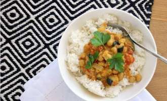 Kichererbsen Curry mit Bockshornklee