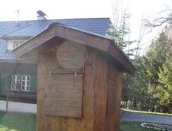 Fahrbare Jagdhütte