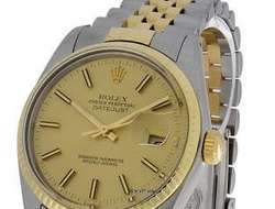 Rolex Oyster Perpetual Datejust Gold/Edelstahl