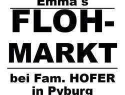 Flohmarkt 8.+9. Juni Pyburg