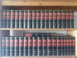 Gesamte Brockhaus Enzyklopädie, Ledereinband