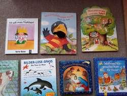 Kinderbücher, 14 verschiedene Bücher