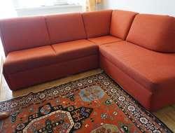 Sitzecke rot - GRATIS