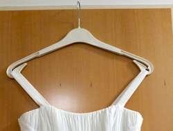 Kleid Gr. 34/36, Farbe ivory, wie neu, zu verkaufen