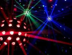 Musikanlage Partylichter Hochzeit Geburtstag Party Poltern