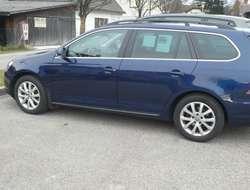 verkaufe  VW Golf Variant, Farbe blau metallic,  Comfortline BMT 1,6 T