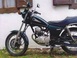 Leichtmotorrad Yamaha