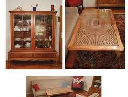 Wohnzimmer im Chipendale Stil