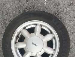 Felgen 14 x 5 1/2 JJ  für Mazda 323 f BJ 1989-1994 LK 4x100