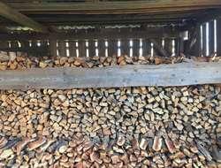 Sofort heizbares Holz