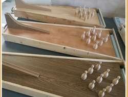 Tischkegelbahn