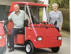 Seniorenfahrzeug Graf Carello